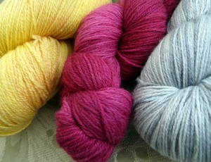 Choices of yarn for Citron